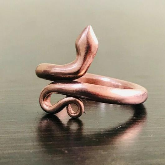 Snake Ring, Dragon Ring, Consecrated Ring for Men and Women Snake Ring HK Jewellers Copper Copper US 4