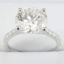 Load image into Gallery viewer, Solitaire Moissanite Engagement Ring Diamond Ring HK Jewellers