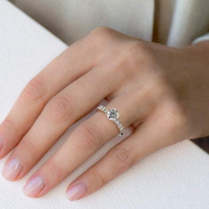 Wedding Art Deco Engagement Ring Wedding Ring HK Jewellers