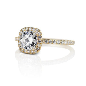 Wedding Ring Natural Diamond Engagement Anniversary Ring in 14K Solid Gold Wedding Ring HK Jewellers