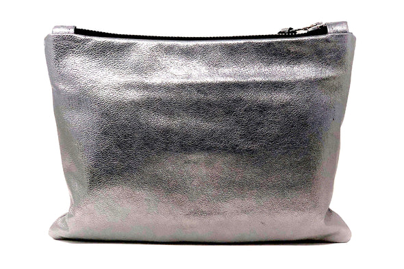 Metallic Leather Medal Stripe Gado Bag