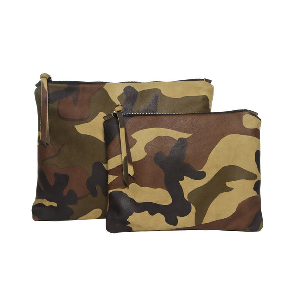 Camouflage Leather Gado Bag