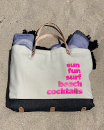 Summer Fun Denim Tote