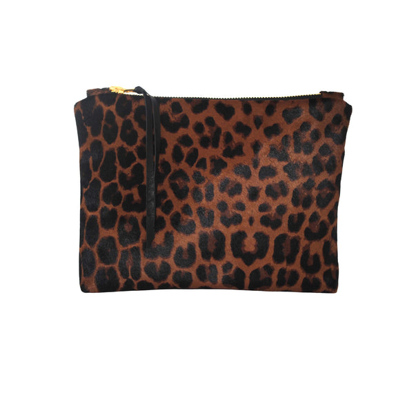 Lisa Leopard Gado Clutch