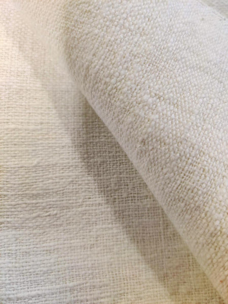 Close-Up of the 100 Year Old White Cotton Khadi Fabric