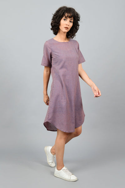 Garden Wine- Round Bottom Dress