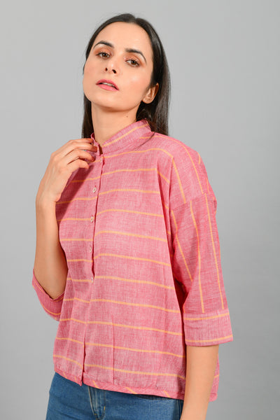 Monsoon Red- Free Size Shirt