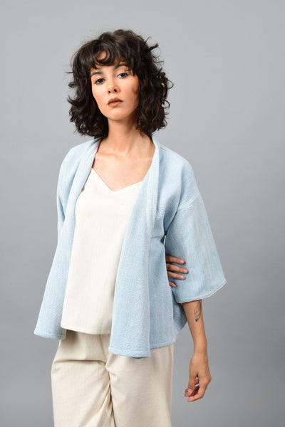 Line Blue- Anti-fit Shrug