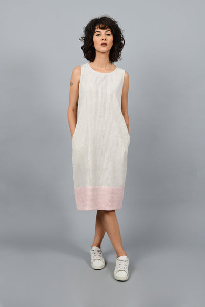 The Sea- Sleeveless Dress