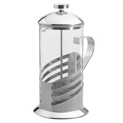 Large 33 oz Silver Accents French Press