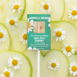 Green Apple Chamomile Lollipop