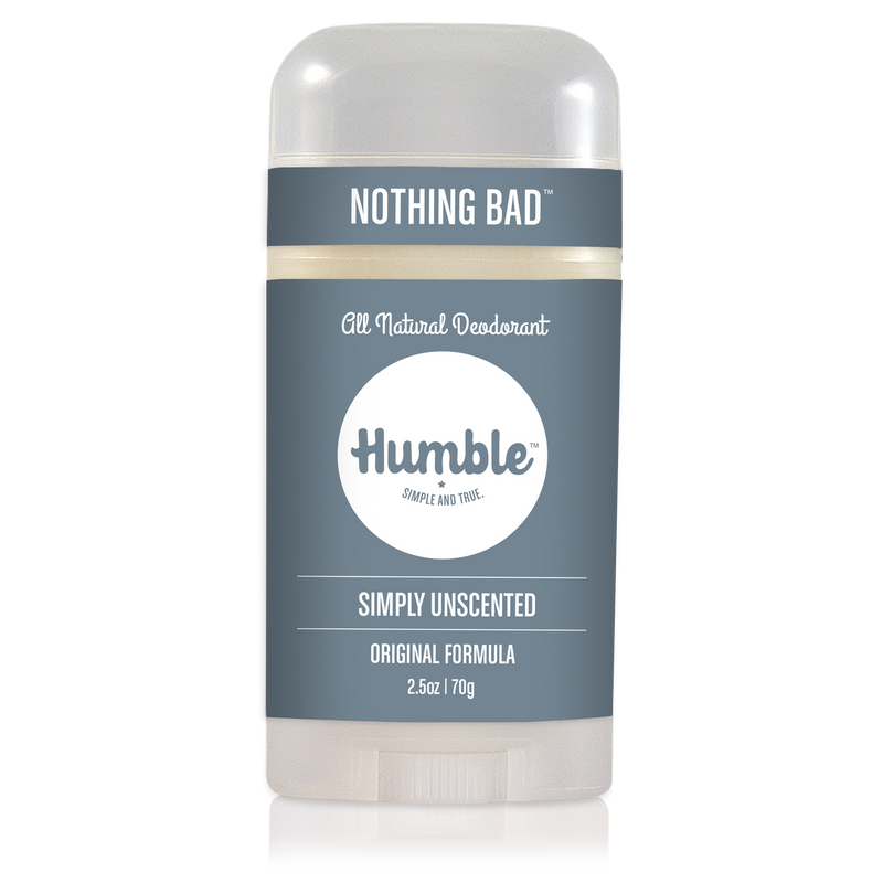 Simply Unscented Deodorant