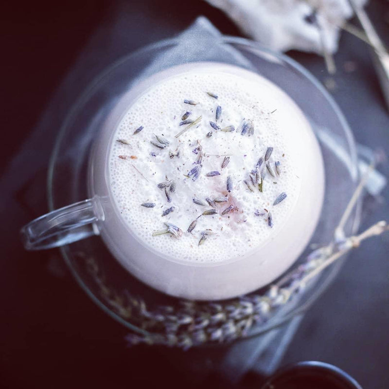 Elderberry Lavender Latte - PICK UP ONLY