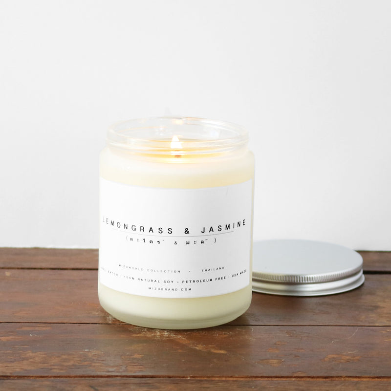 Lemongrass & Jasmine Candle