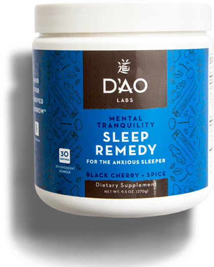 Mental Tranquility Sleep Remedy