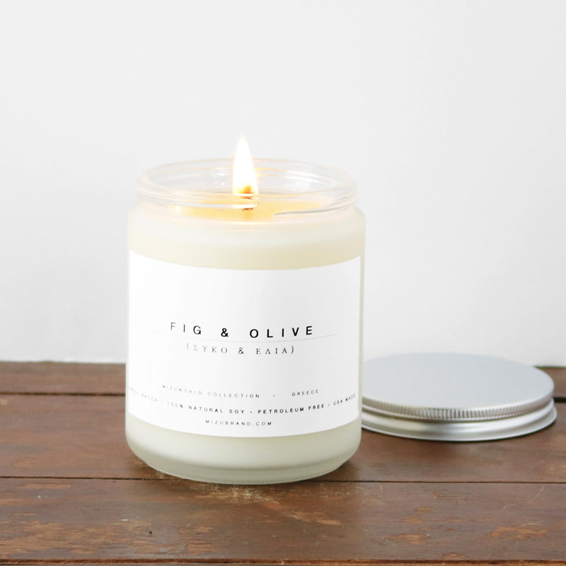 Fig & Olive Candle