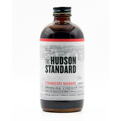 Strawberry Rhubarb Shrub 12 oz
