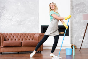 The Evolution and the Revolution: Lola's two Microfiber Mop Systems