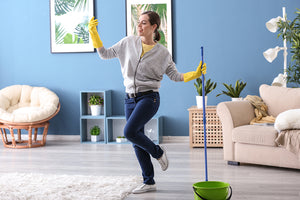 MOP, MOP and AWAY: How To Clean Your Home's Floors Leaving Them Spotless