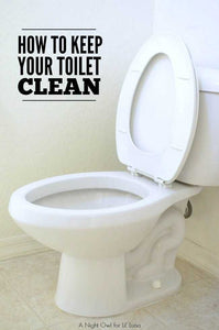 Surprising Hacks to Clean your Toilet Bowl