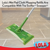 Compatible with Swiffer Sweeper, #9004, BY LOLA