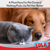 Lola Rola Sticky Mop™, nothing picks up pet hair better, Item# 903