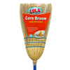 Corn Broom - 3 Sew, Large Head Sweeps a Wide Area Easily, Item# 107