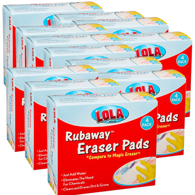 Mr. Clean® Magic Eraser Comparable Rubaway™ Eraser Pads by Lola- 48 pack, 4224