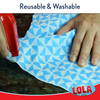 Anti-Microbial Clean n' Wipe™ Cloths - Comparable to Clorox® Handi Wipes® - 6 pack