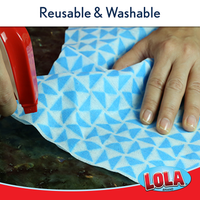 Reusable Anti-Microbial Clean n' Wipe™ Cloths - Comparable to Clorox® Handi Wipes® - 6 pack, 524