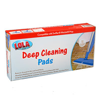 Lola® Products, Deep Cleaning Pads - 144 pack, #9011, Swiffer WetJet Compatible, 12 boxes of 12
