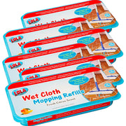 Swiffer® Sweeper® Compatible Wet Mopping Pad Refills,  72 count - GREAT VALUE, Item# 9004, BY LOLA