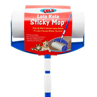 Lola Rola Sticky Mop™ with extender handle, 902, Adhesive floor roller mop