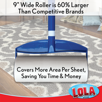 Lola Rola Sticky Mop™ w/ extender handle