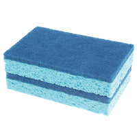 Natural Cellulose Scrub Sponges - 2 count