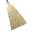 Corn Broom - 100%, 5 Sew, Extra Large & Wide Fan Shaped Head at 12""