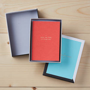 Motto Note Card Set