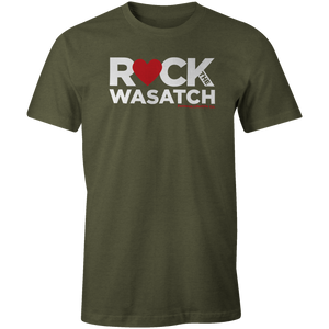 Men's T-Shirt - Heart Wasatch