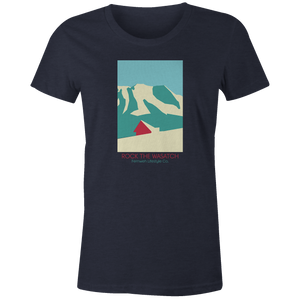 Women's T-shirt - Modern Mountain