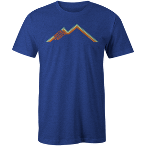 Men's T-shirt - Retro Minimal Mountains