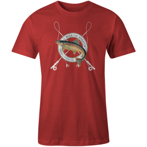 Men's T-shirt - Fly Fishing