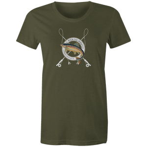 Women's T-shirt - Fly Fishing