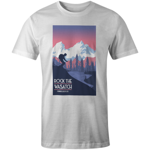 Men's T-shirt - Alpine Skier