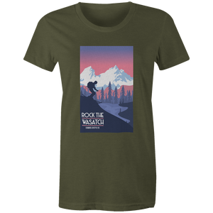 Women's T-shirt - Alpine Skier