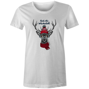 Women's T-shirt - Decked out Deer