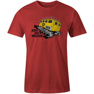 Men's T-shirt - Yellow Snow Cat