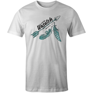 Men's T-shirt - Arrow and Feathers