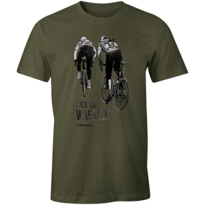 Men's T-shirt - Climbing Cyclists