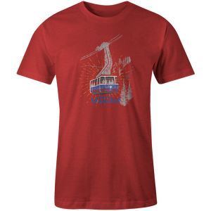 Men's T-shirt - Blue Tram