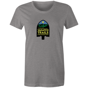 Women's T-shirt - Wasatch Trail Fondation